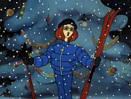 Мама Дяди Федора из мультфильма Зима в Простоквашино