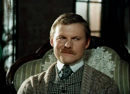 Доктор Ватсон, кадр из фильма Приключения Шерлока Холмса и доктора Ватсона