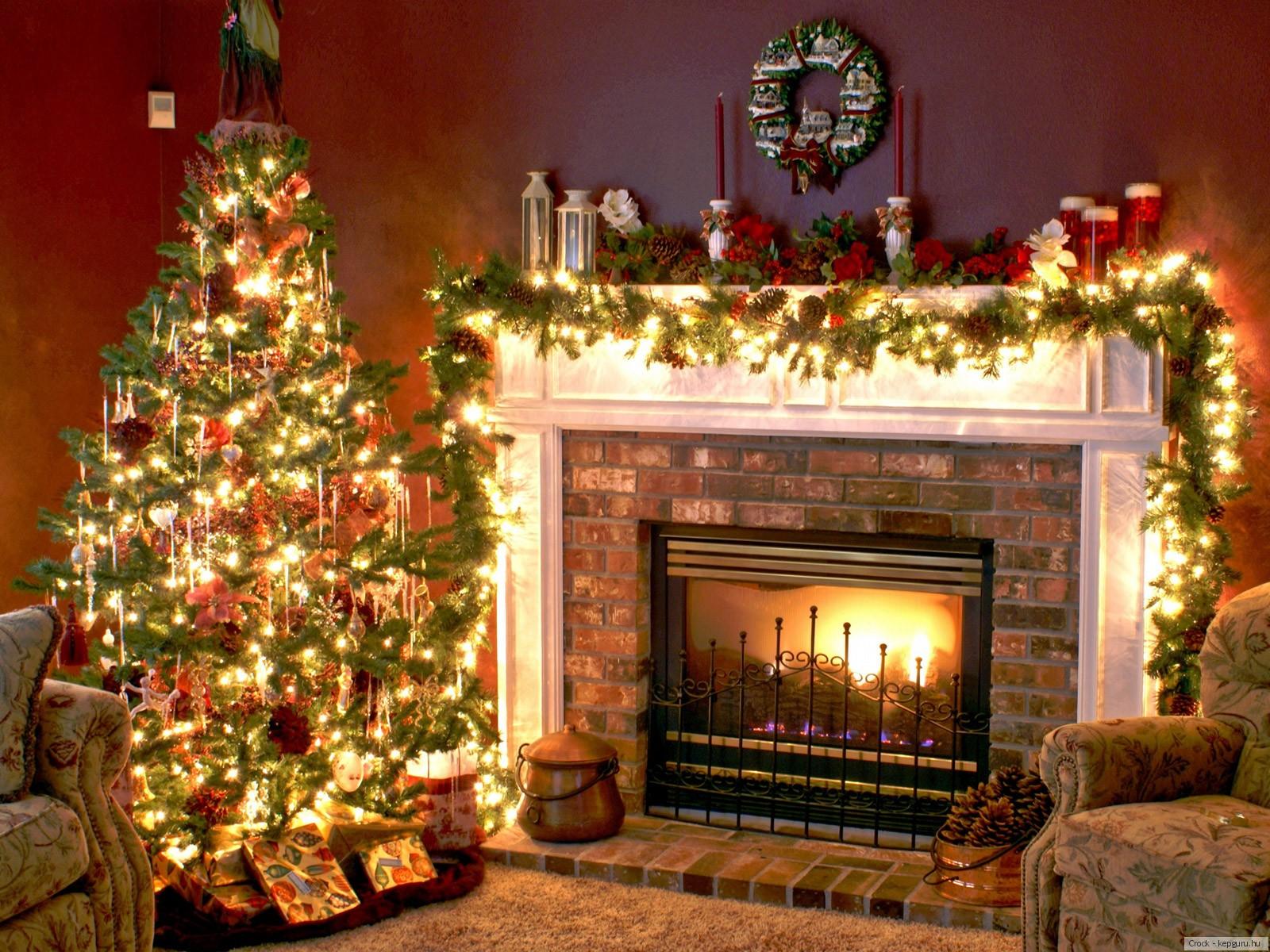 Как красиво украсить дом на новый год своими руками фото