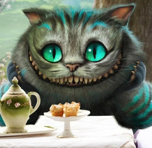 Чеширский кот, кадр из фильма Алиса в стране чудес