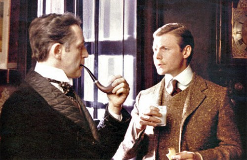 Кадр из фильма Приключения Шерлока Холмса и доктора Ватсона