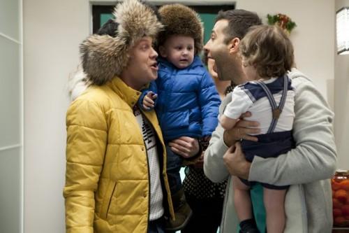 Иван Ургант и Сергей Светлаков в фильме Елки