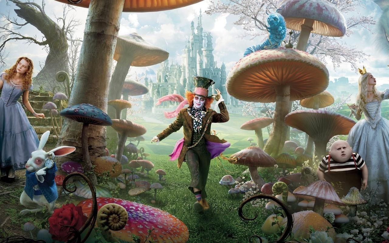 Постер к фильму Алиса в стране чудес