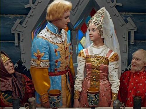 Кадр из фильма-сказки Морозко