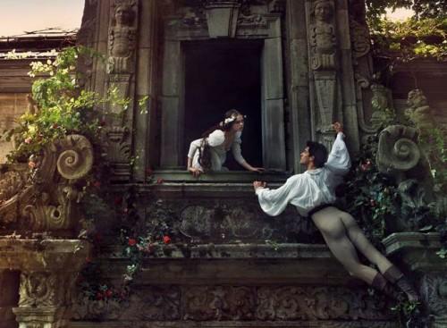 Ромео и Джульетта, признание в любви