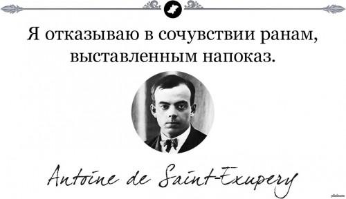 Мудрость Экзюпери