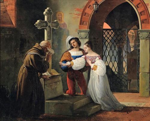 Венчание Ромео и Джульетты