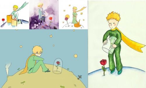 Маленький принц и роза