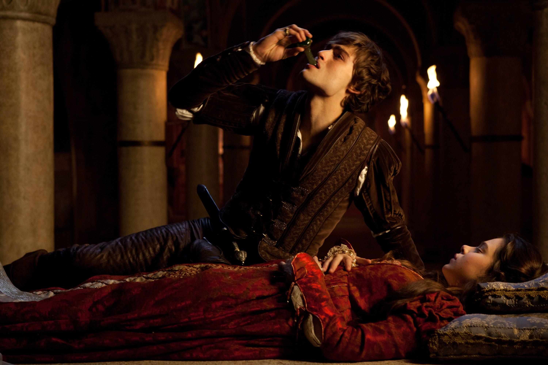Кадр из фильма о Ромео и Джульетте