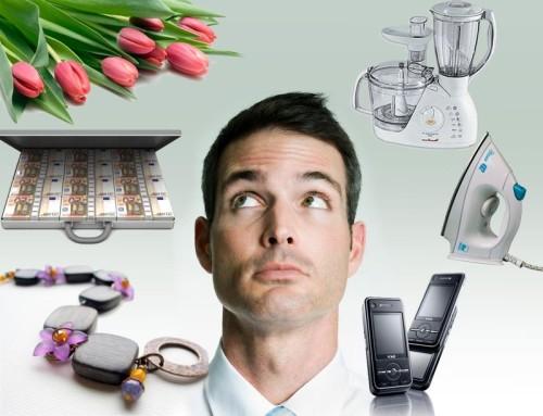 Ожидания и реальность от мужских подарков