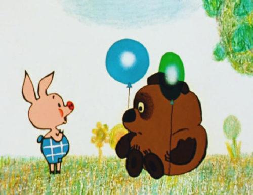 Кадр из мультфильма Винни Пух и все-все-все