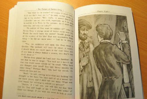 Иллюстрация к книге Портрет Дориана Грея