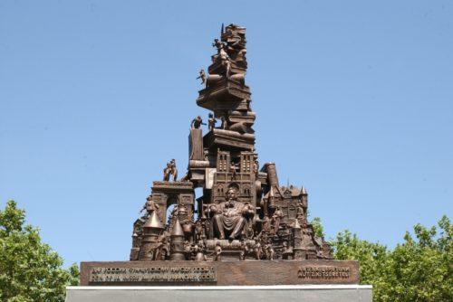 Памятник Бальзаку в г. Агде, Франция