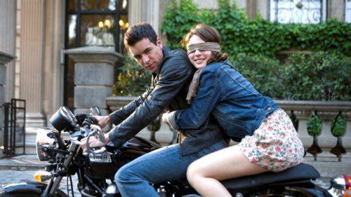 Кадр из фильма Три метра над уровнем неба, Аче и Баби на мотоцикле