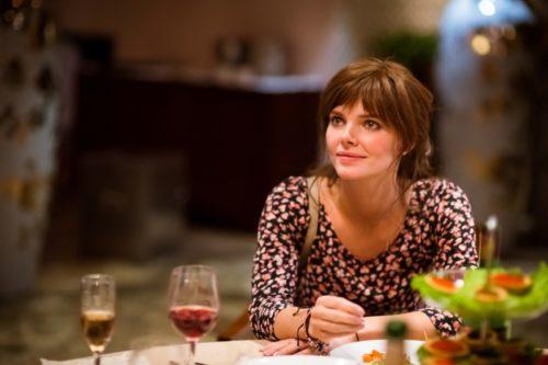 Лиза Боярская в роли Афины, кадр из фильма Статус свободен