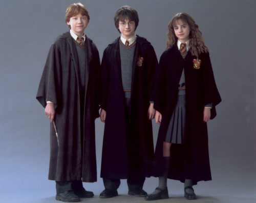 Рон, Гарри и Гермиона