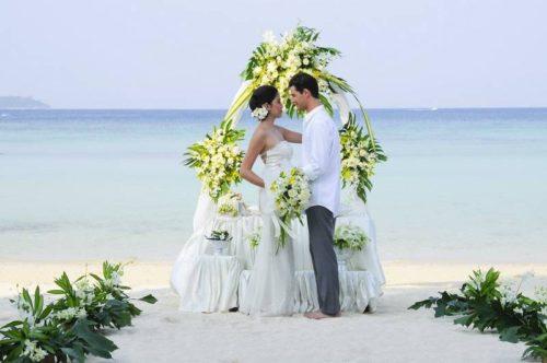 Свадьба на побережье