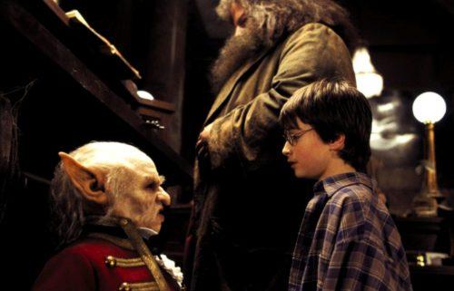 Гарри Поттер и философский камень, Кадры из фильма
