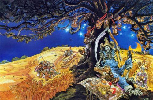 Иллюстрации как отражение сложности сюжета произведений Терри Пратчетта