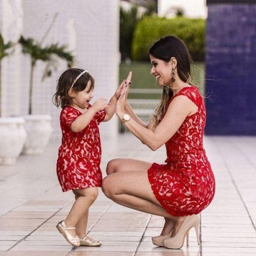 Мама и дочка фемили лук