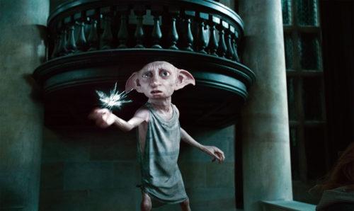 Долби, кадр из фильма о Гарри Поттере