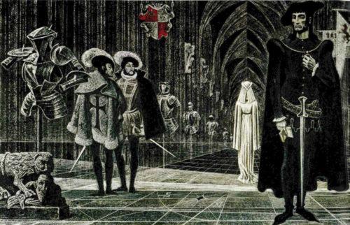 Иллюстрация к книге Гамлет