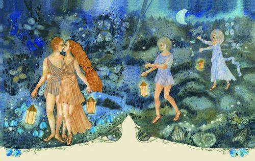 Иллюстрация к книге Сон в летнюю ночь