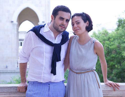 Сафарли с женой