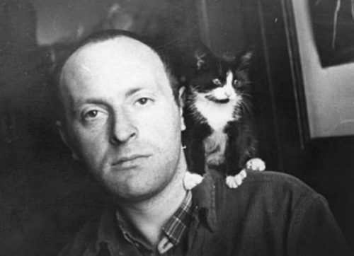 Иосиф Бродский и кот Яся