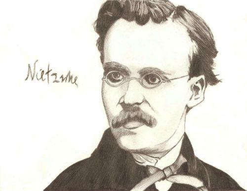Портрет Ф. Ницше