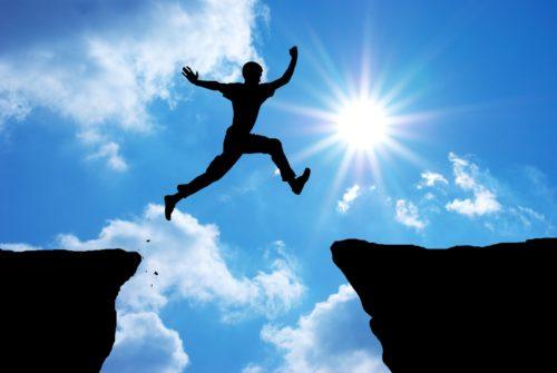 Прыжок над пропастью