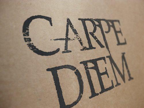 Carpe Diem, наслаждайся моментом