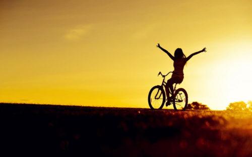 Жизнь - это движение велосипеда