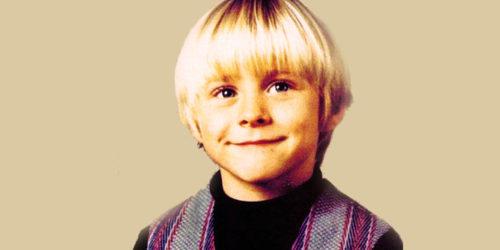 Курт Кобейн в детстве