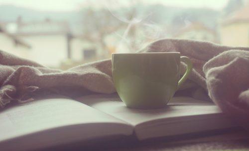 Чтение и кофе