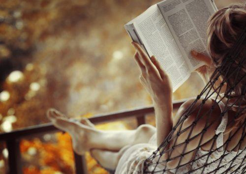 Читать на балконе