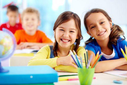 Школьники на 1 сентября в классе