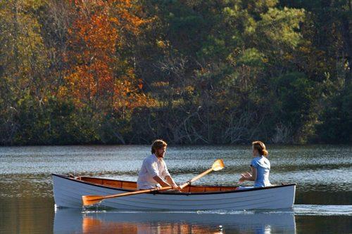 Сцена на лодке из фильма «Дневник памяти»