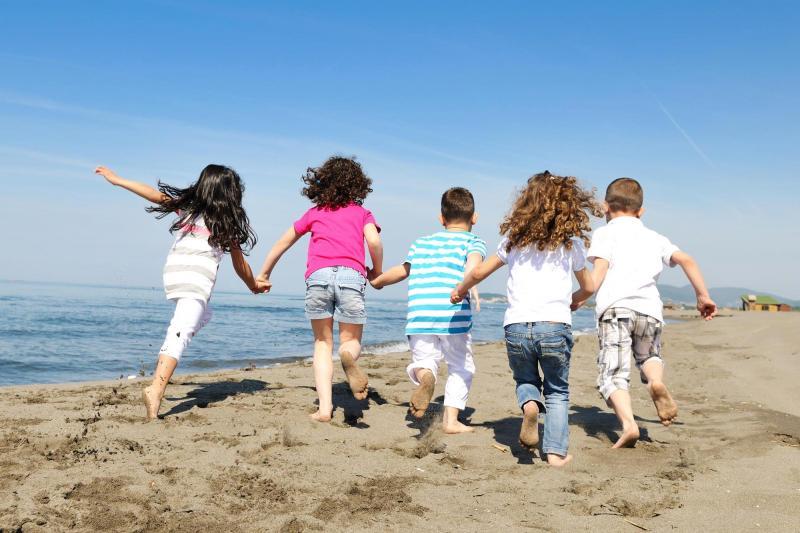 Дети на каникулах